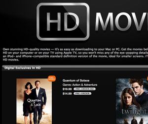 iTunes HD Movies